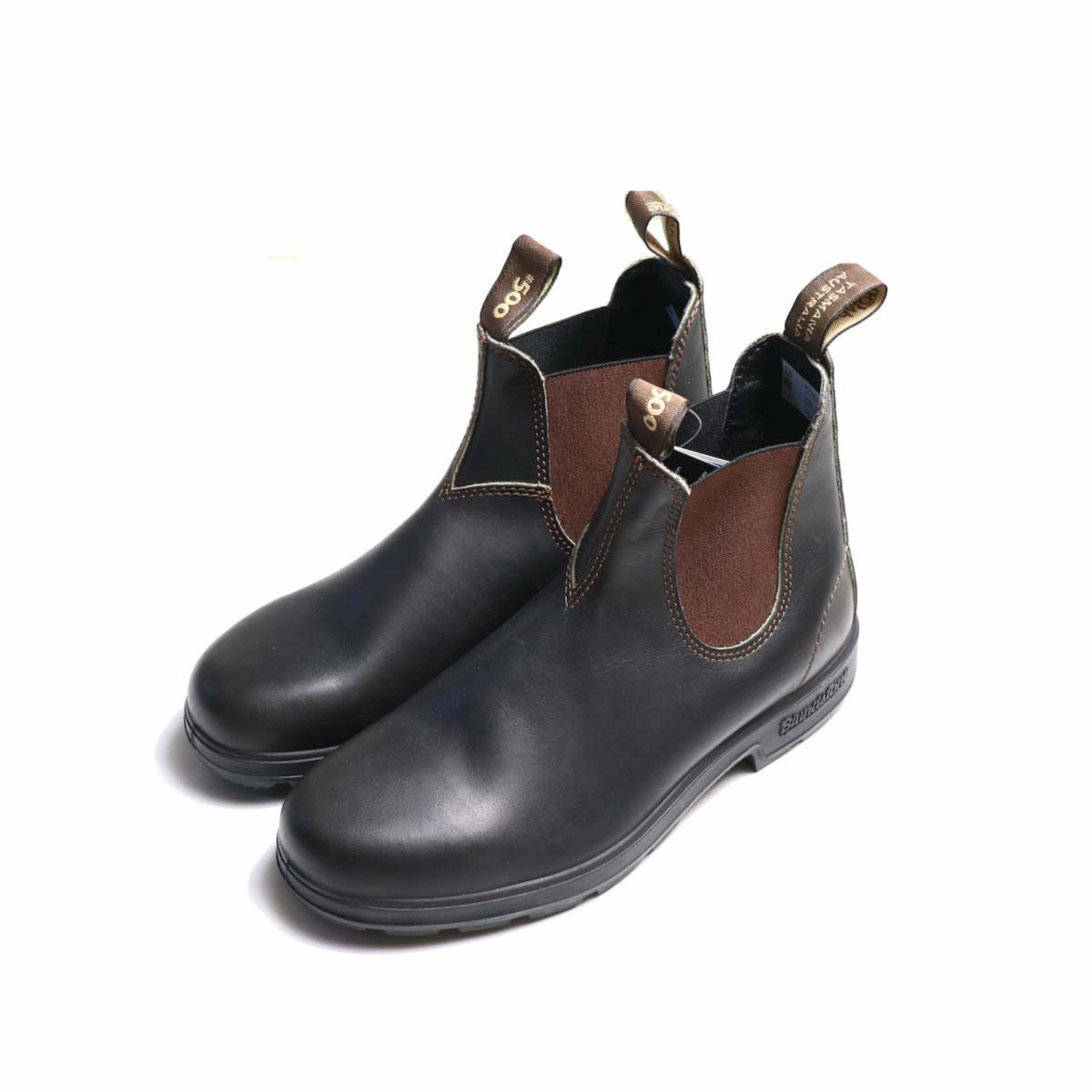 BLUNDSTONE / Side Gore Boots #500 (Brown) 正面