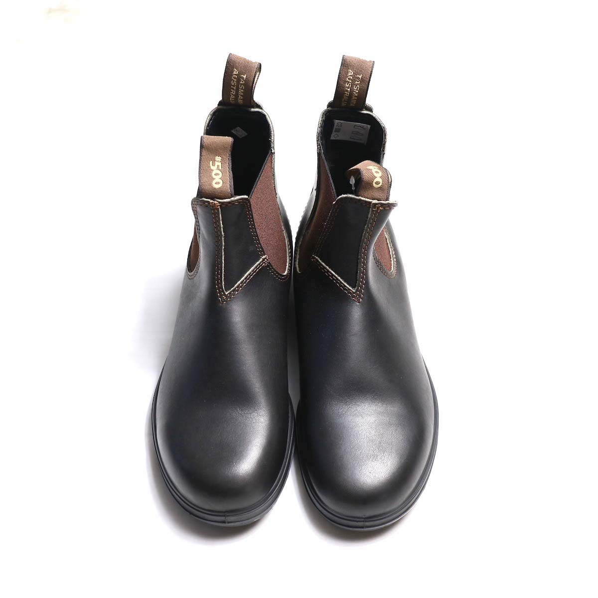 BLUNDSTONE / Side Gore Boots #500 (Brown) 上から