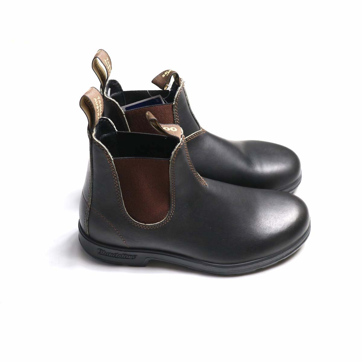 BLUNDSTONE / Side Gore Boots #500 (Brown) 横から