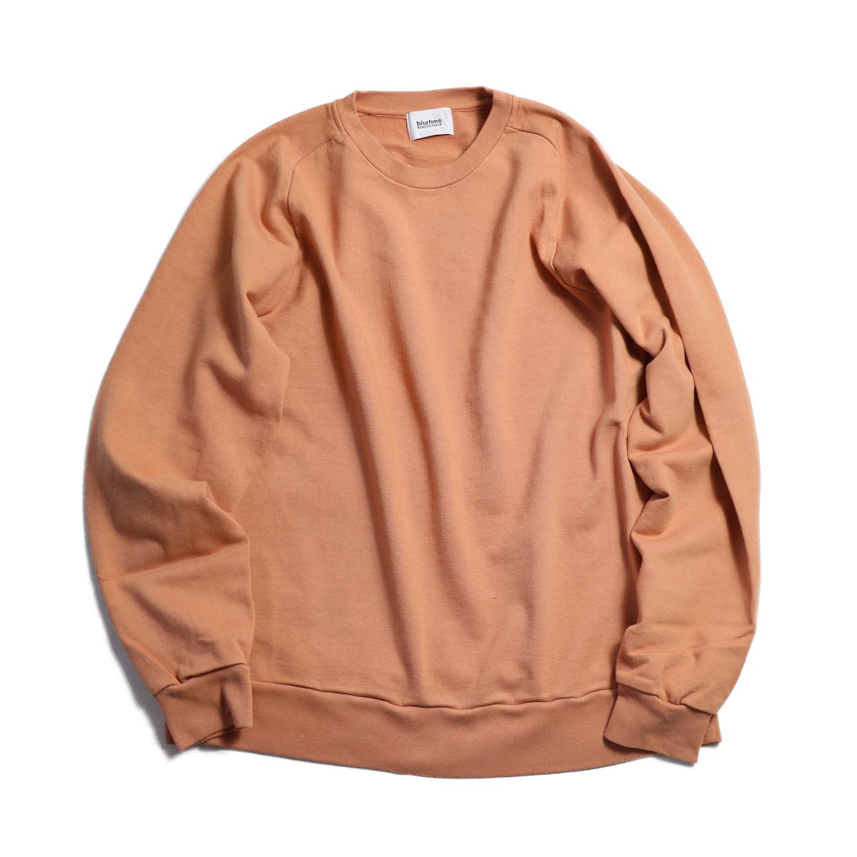 blurhms / Freedom Sleeve Sweat Shirt - Apricot