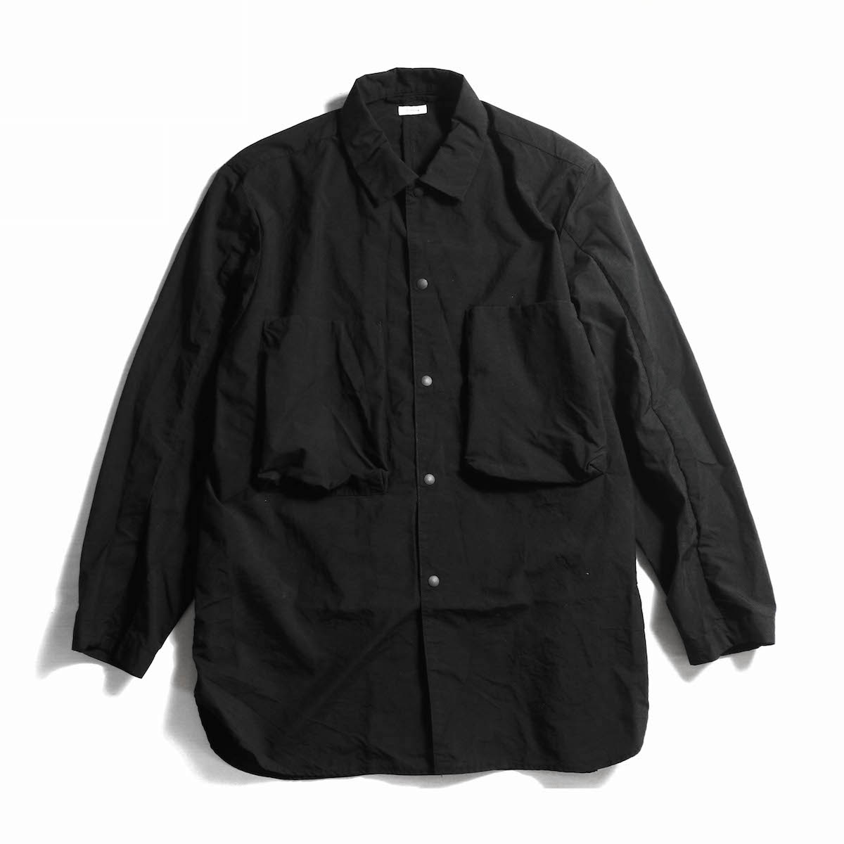 blurhms / Nylon Utility Shirt Jacket