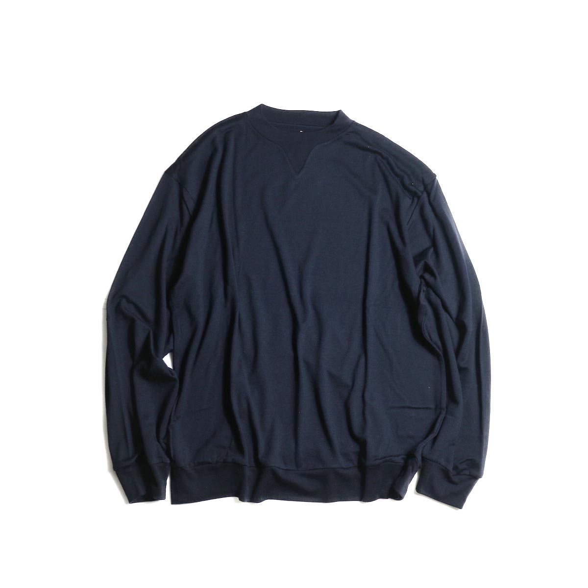 blurhms / Shrink Wool Gazette P/O (Navy) 正面