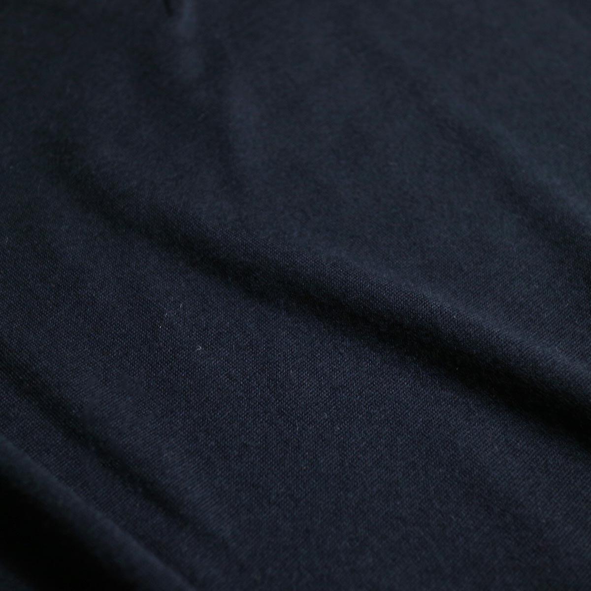 blurhms / Shrink Wool Gazette P/O (Navy)  生地感