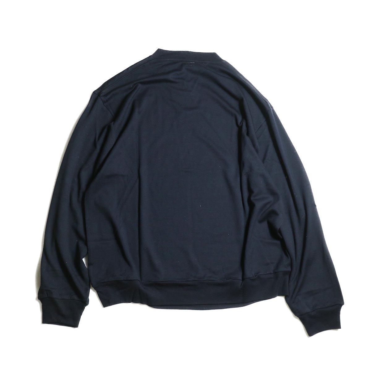 blurhms / Shrink Wool Gazette P/O (Navy)  背面