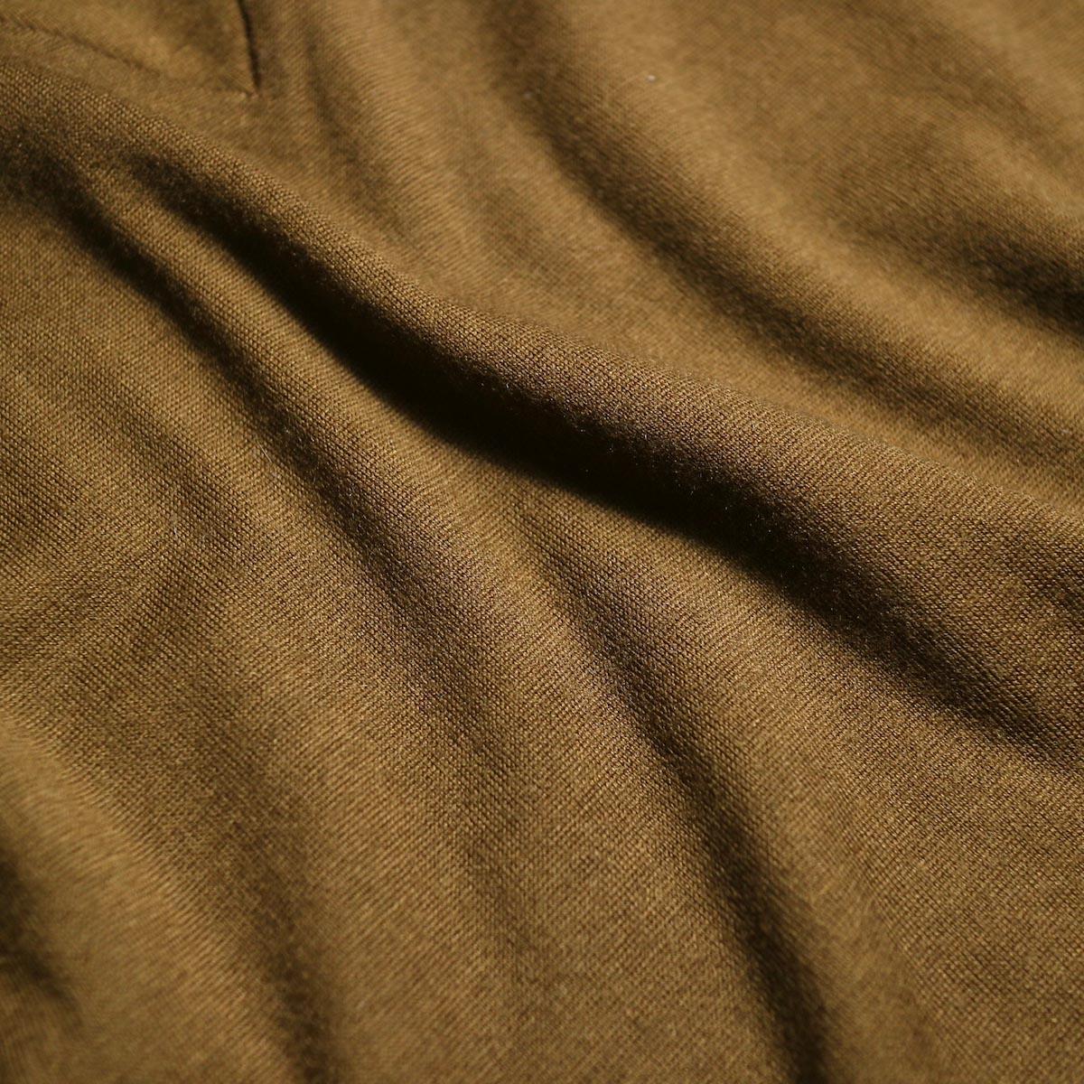 blurhms / Shrink Wool Gazette P/O (Taupe)  生地感