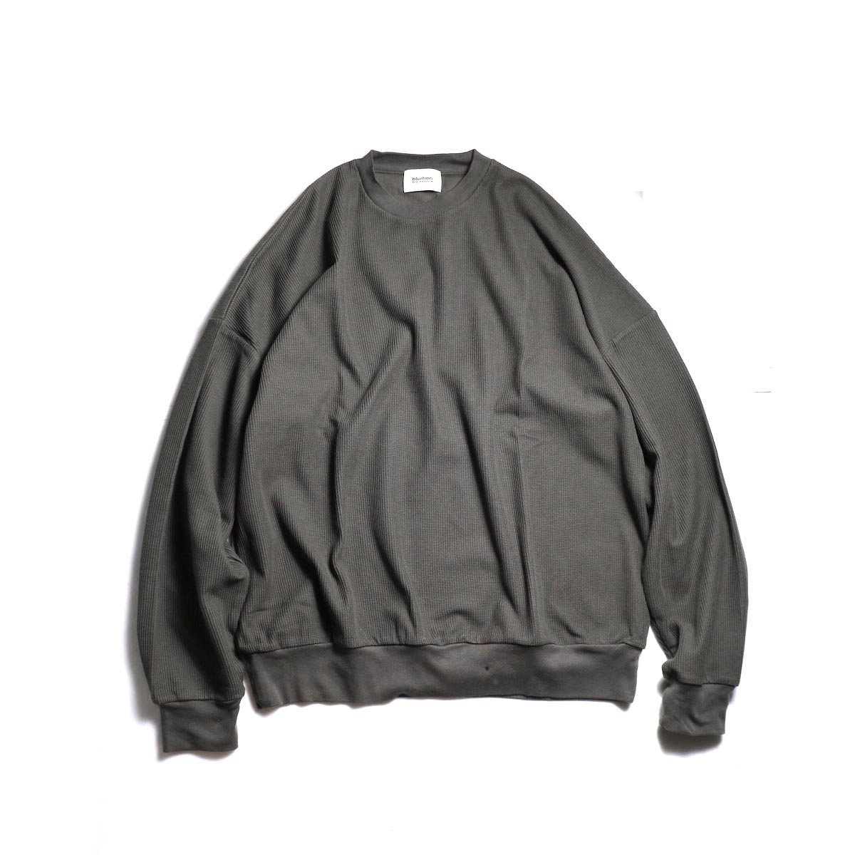 blurhms / New Rough & Smooth Thermal P/O Loose Fit -Charcoal