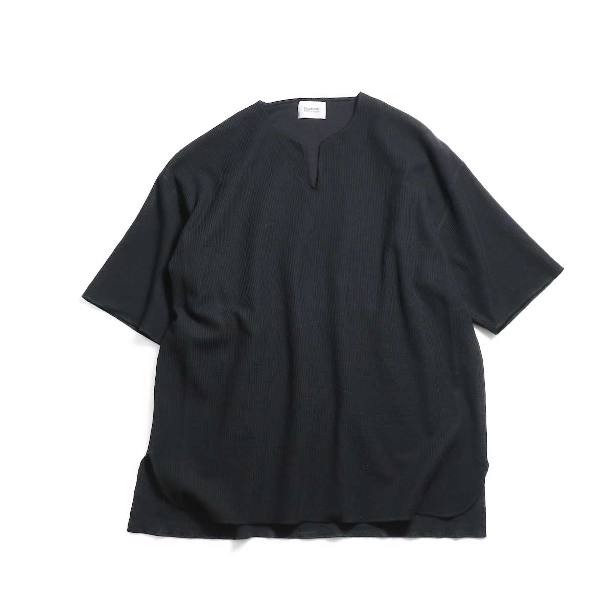blurhms / New Rough & Smooth Thermal Over-Neck S/S -Black