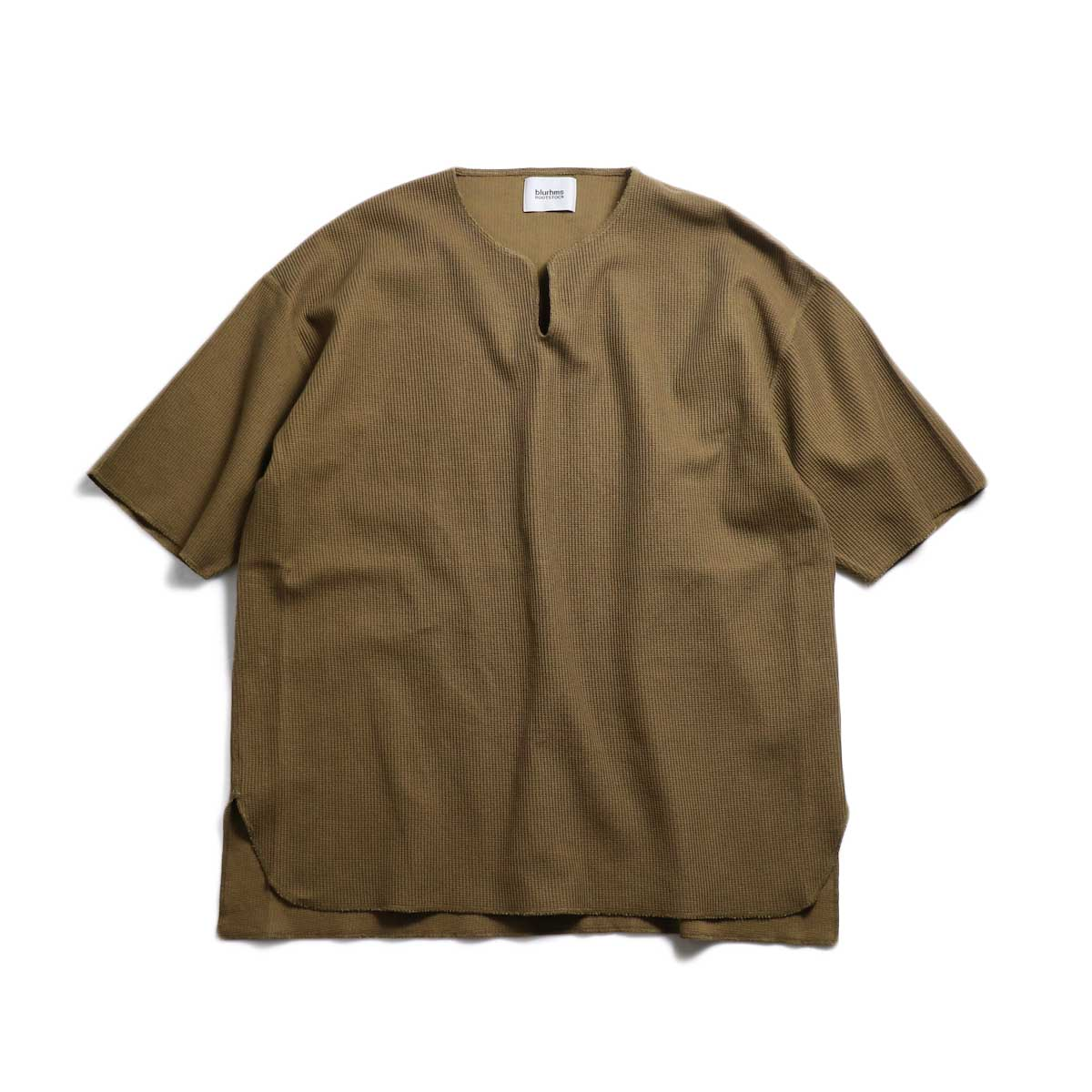 blurhms / New Rough & Smooth Thermal Over-Neck S/S -Coyote
