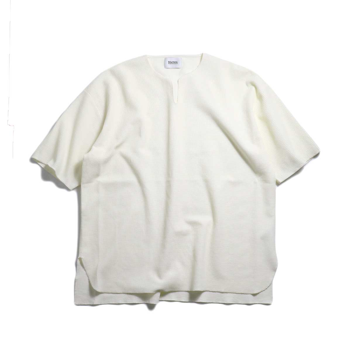 blurhms / New Rough & Smooth Thermal Over-Neck S/S -Off