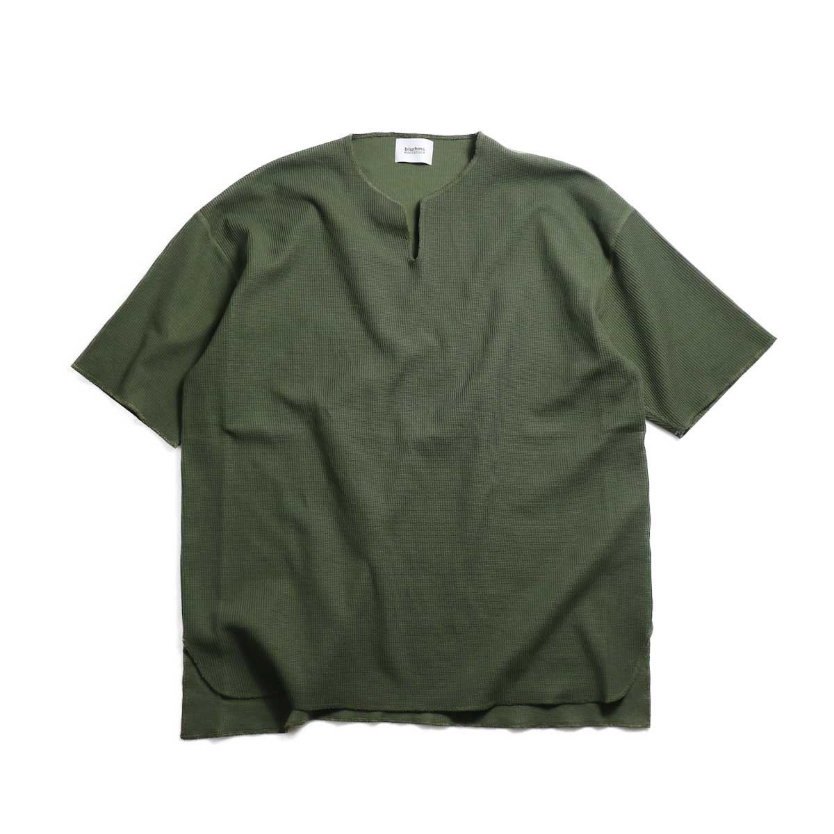 blurhms / New Rough & Smooth Thermal Over-Neck S/S -Olive