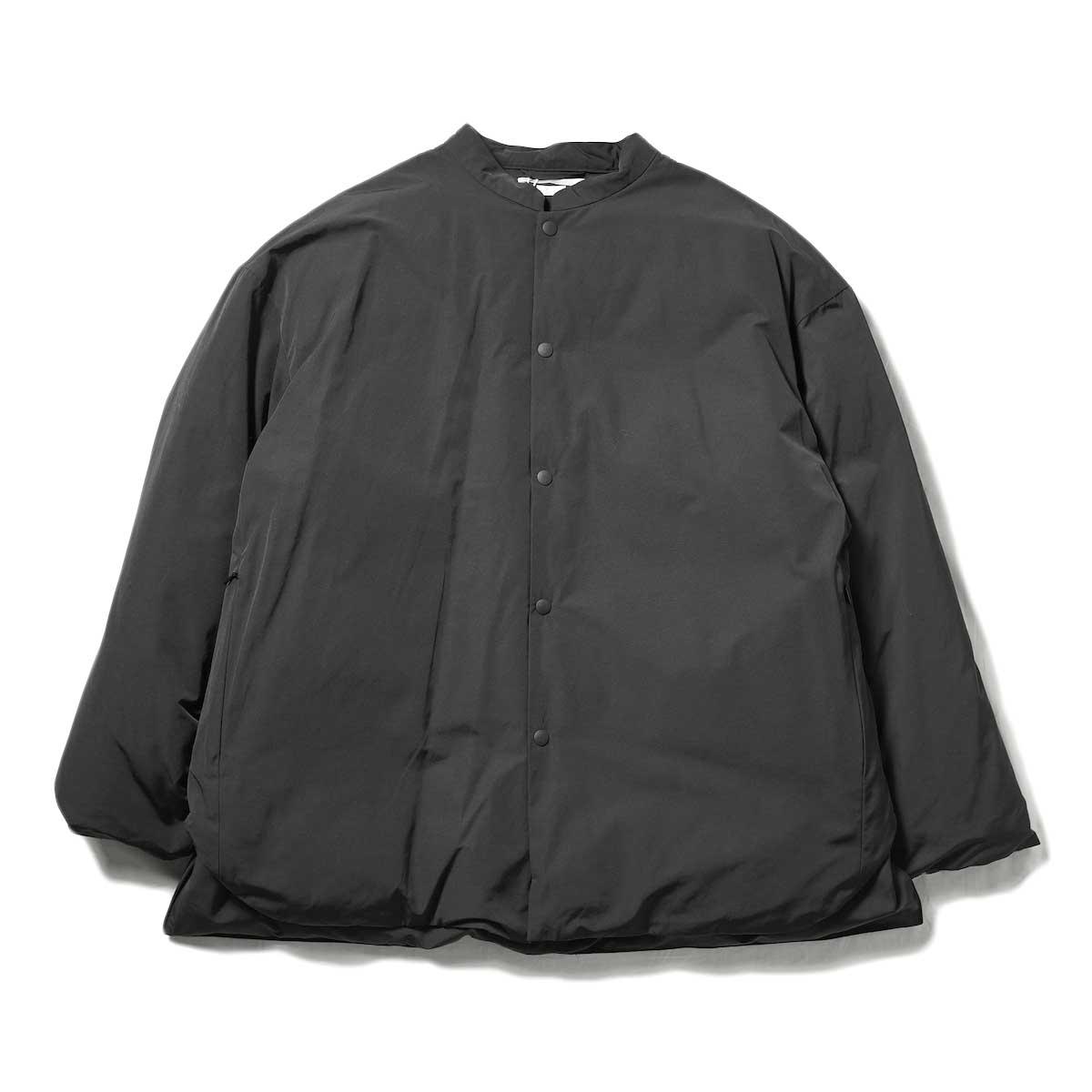 blurhms / Stand-up Collar Down Jacket (Black)
