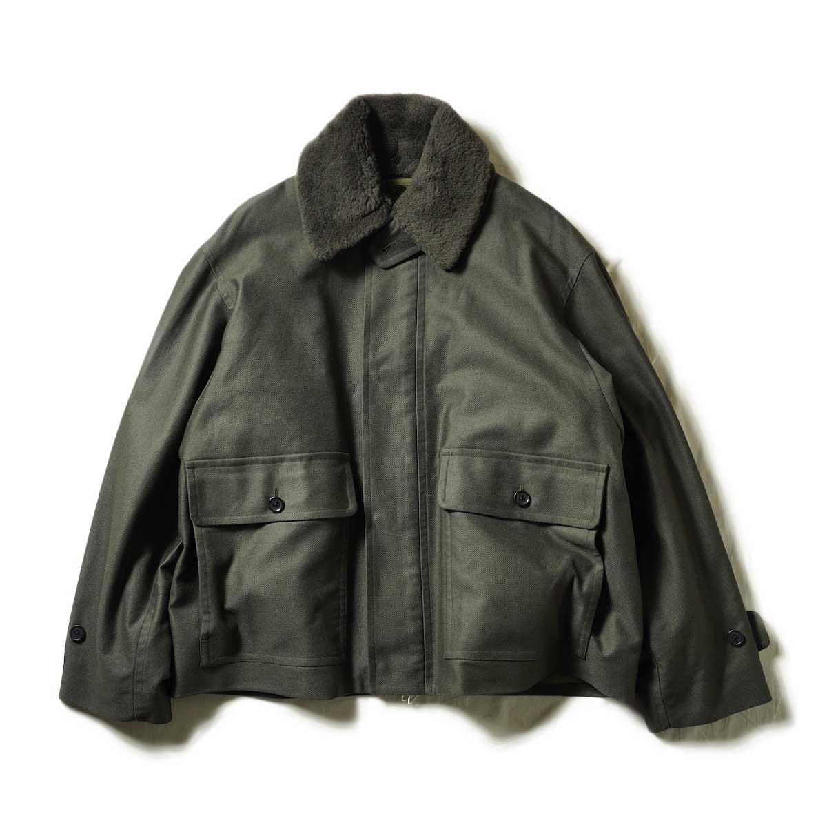blurhms / Bloken Cloth A2MK3 Jacket (Khaki Gray)