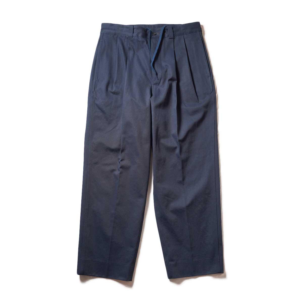 Blurhms / Chino Pants (Dark Navy)