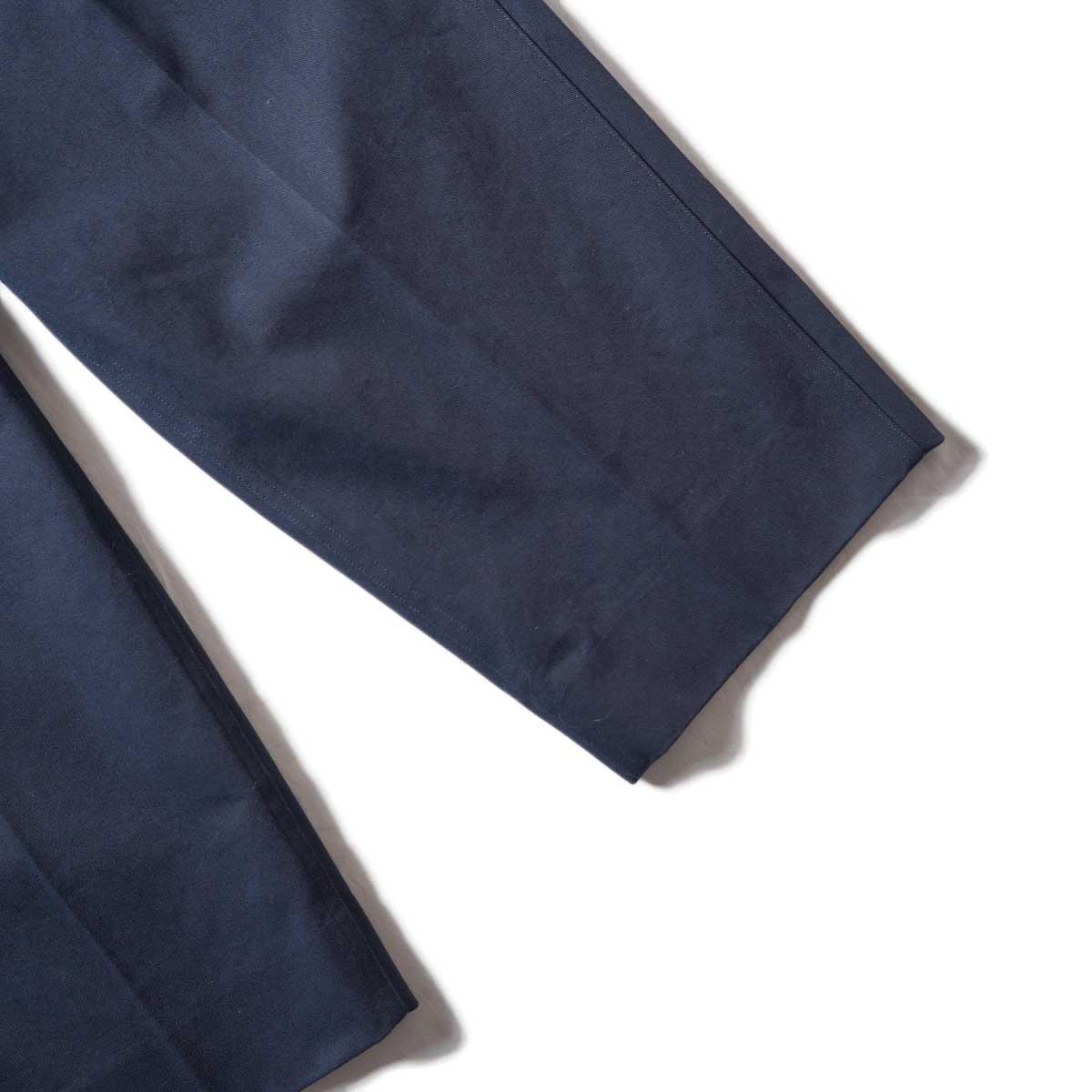 Blurhms / Chino Pants (Dark Navy)裾