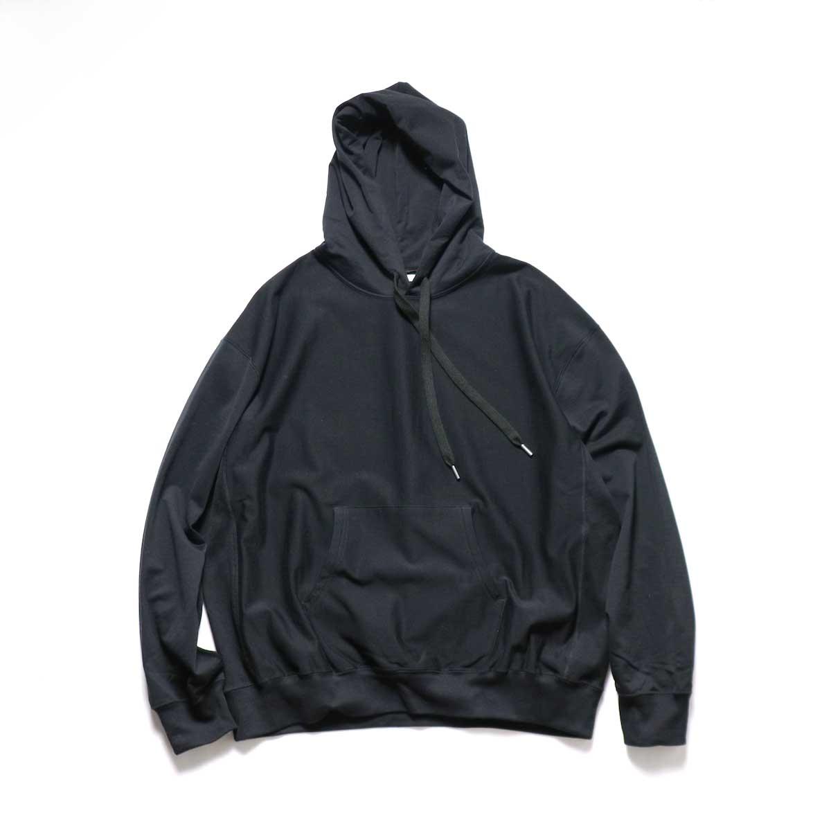 blurhms / High Gauge Sweat Hoodie P/O (Black)