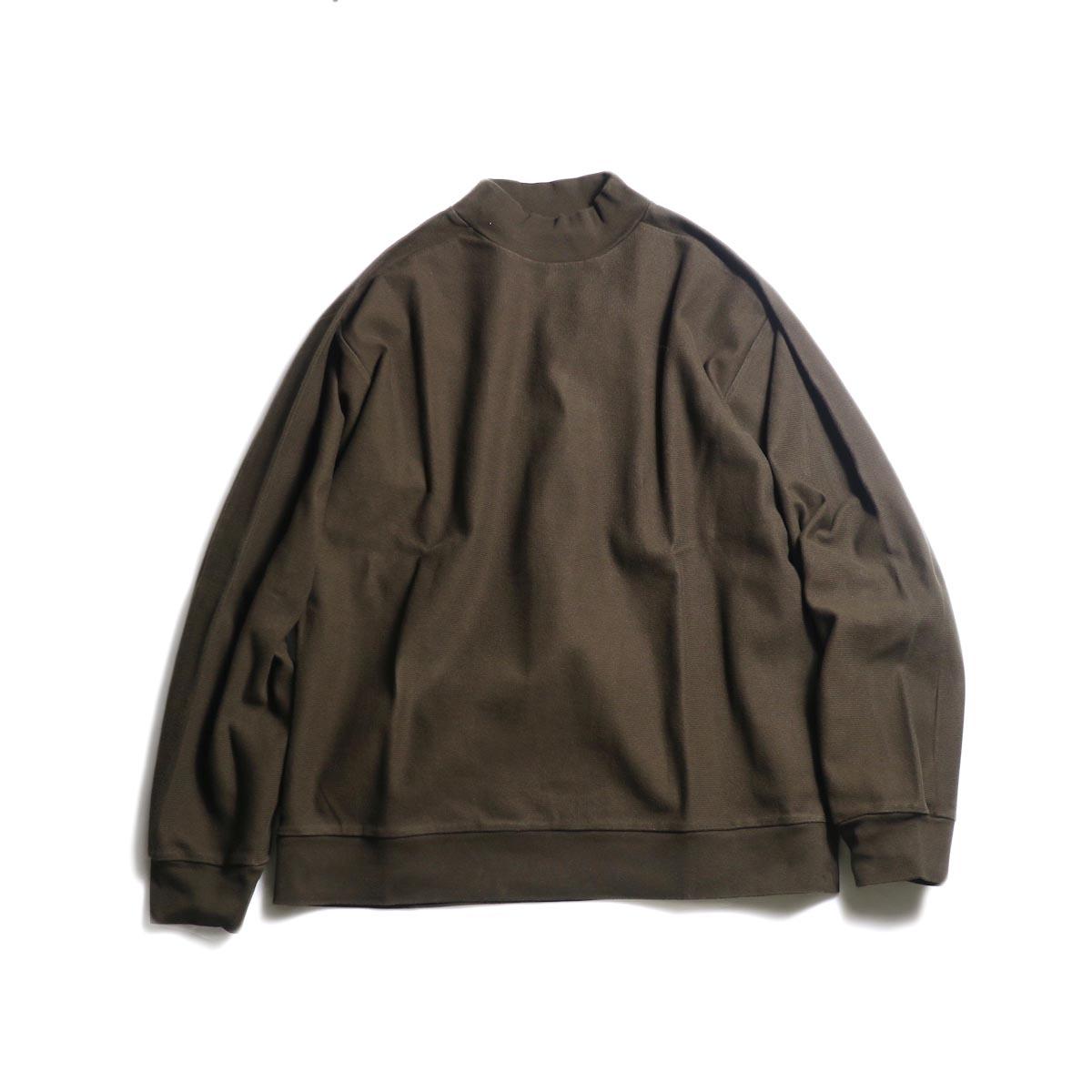 blurhms / Raschel High-Necked P/O (Brown)
