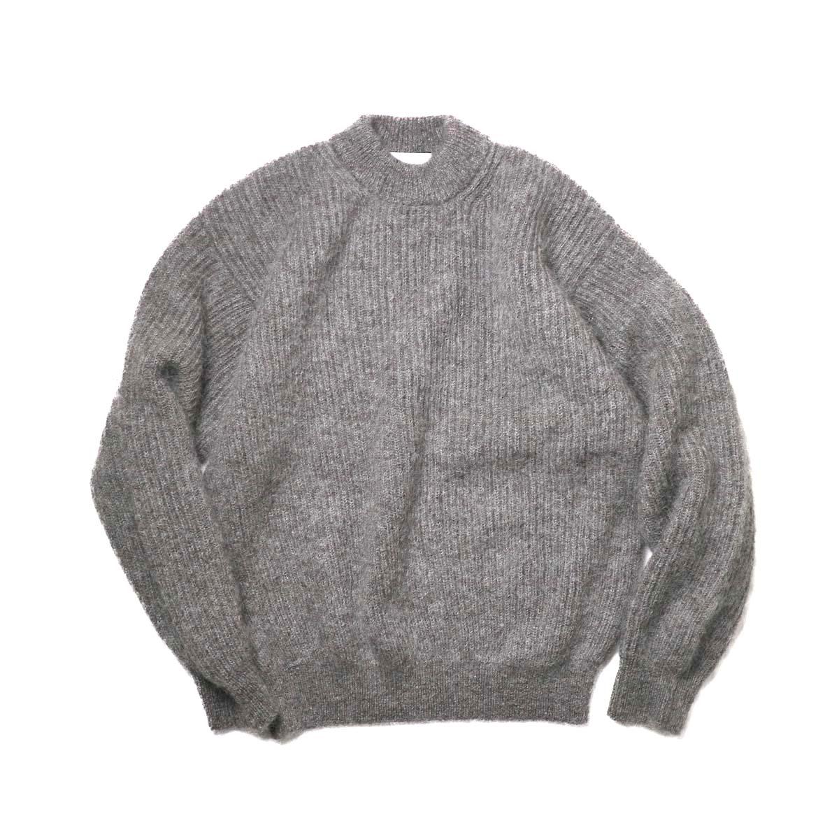 blurhms / Kid Mohair Alpaca Wool Knit P/O (Brown)