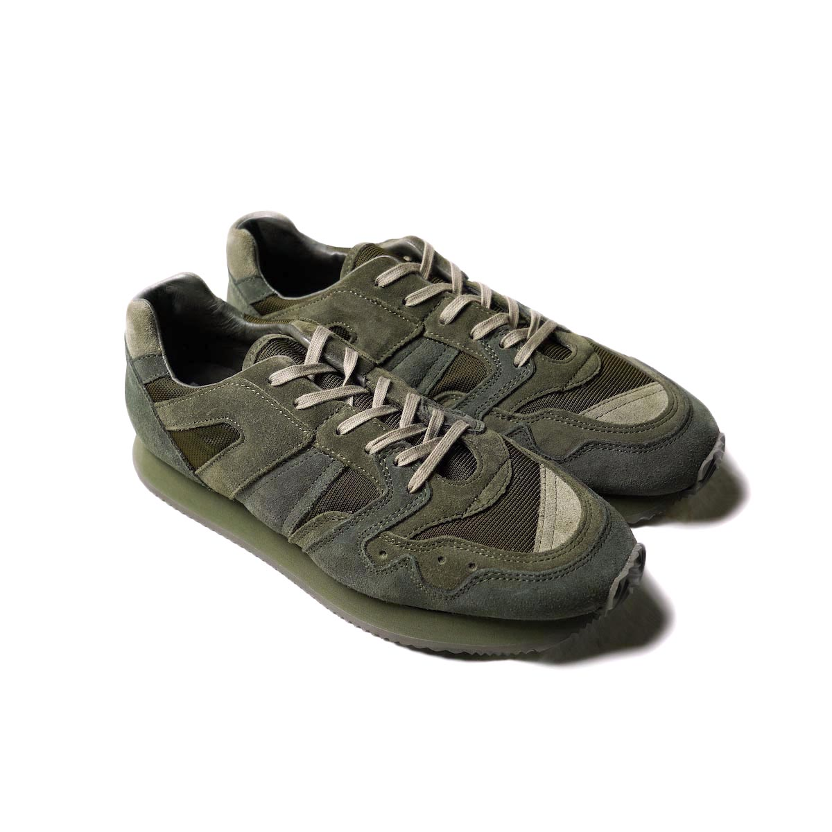 Blurhms × REPRODUCTION OF FOUND / Multi Military Trainer (Brown)