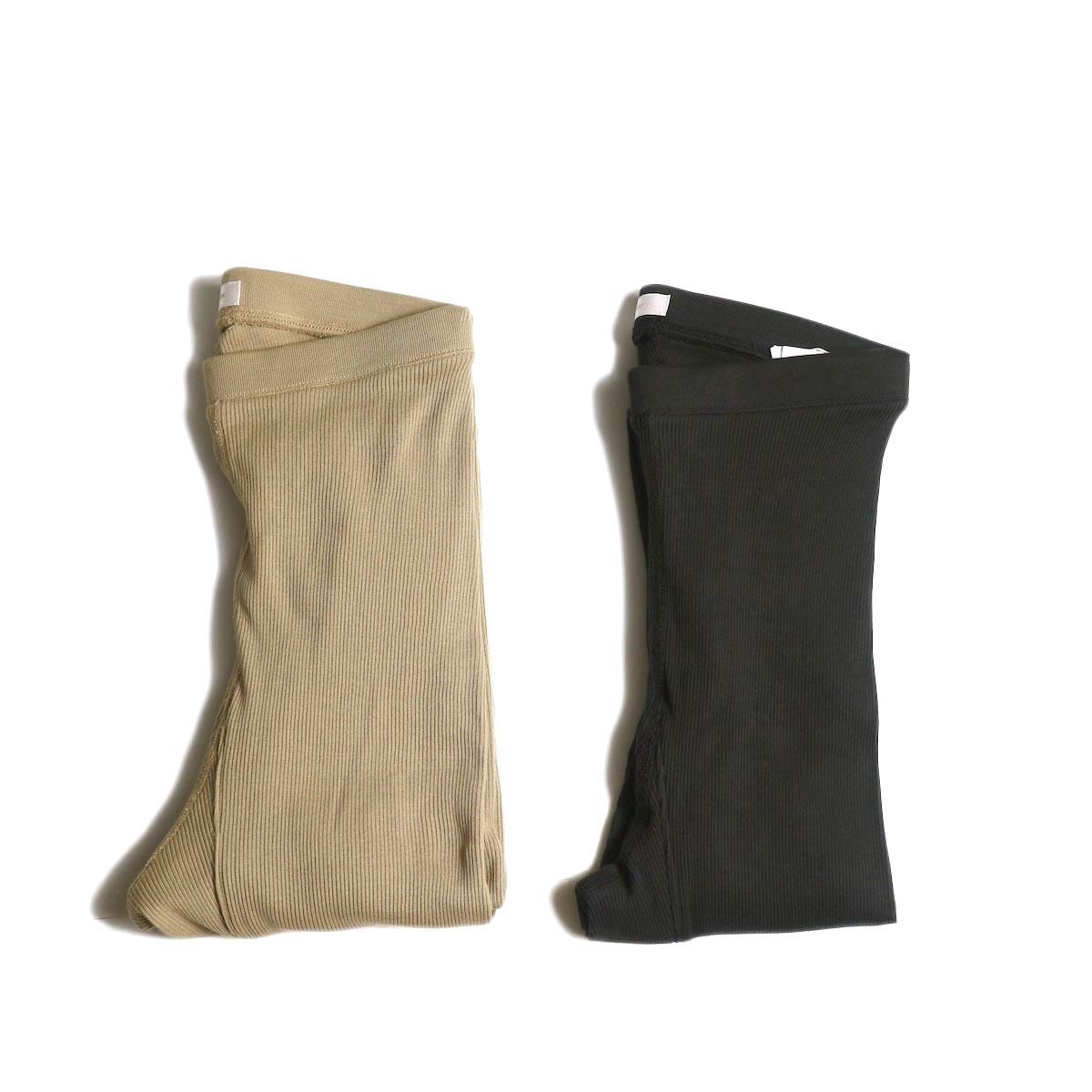 blurhms / Cotton High Stretch Rib Leggings 2色