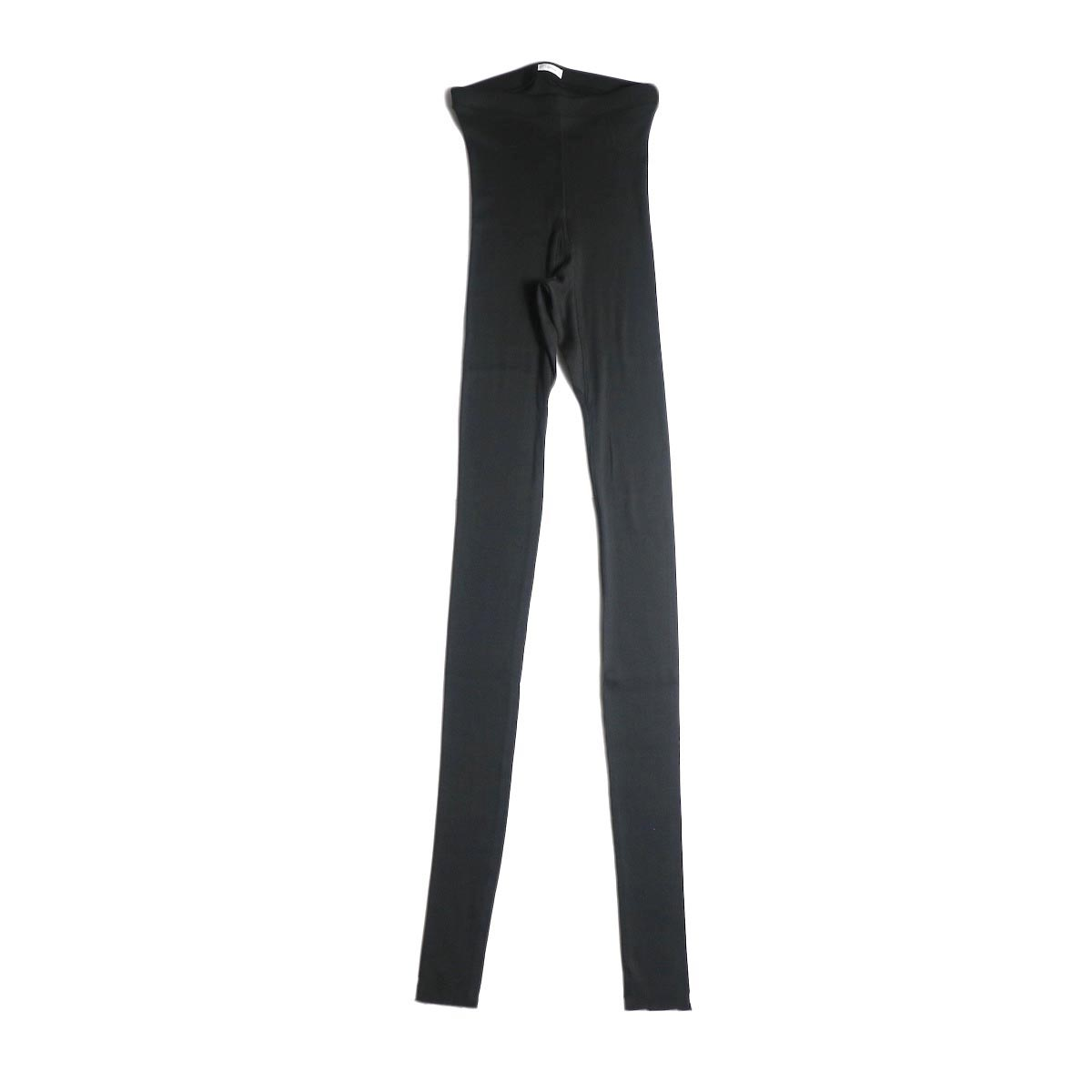 blurhms / Cotton High Stretch Rib Leggings black
