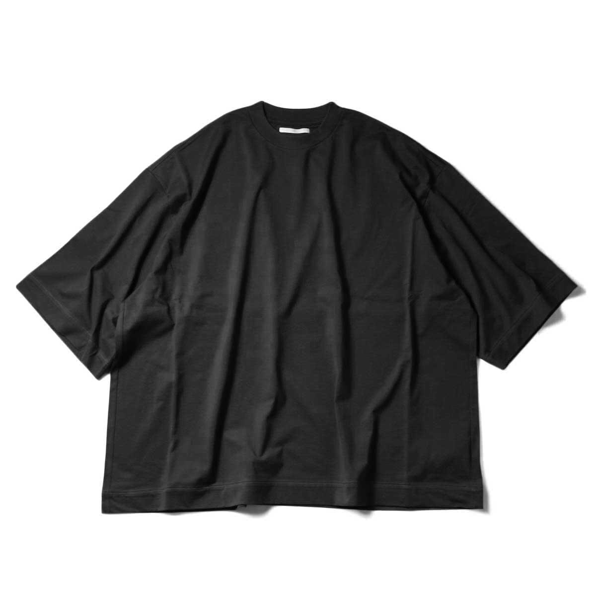 blurhms / Suvin Ripple Super Size Tee (Black)