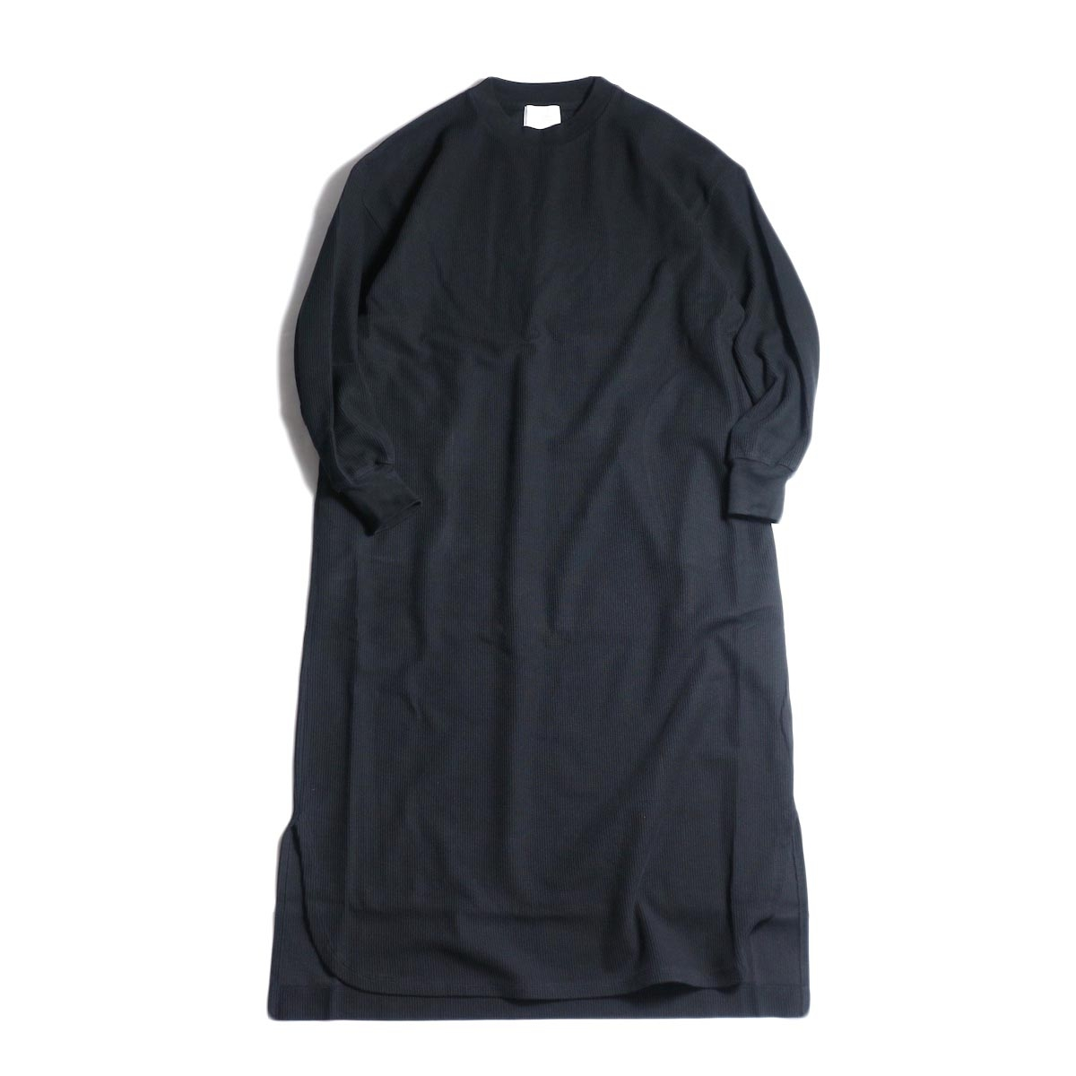 blurhms / Rough&Smooth Thermal One Piece (Black)