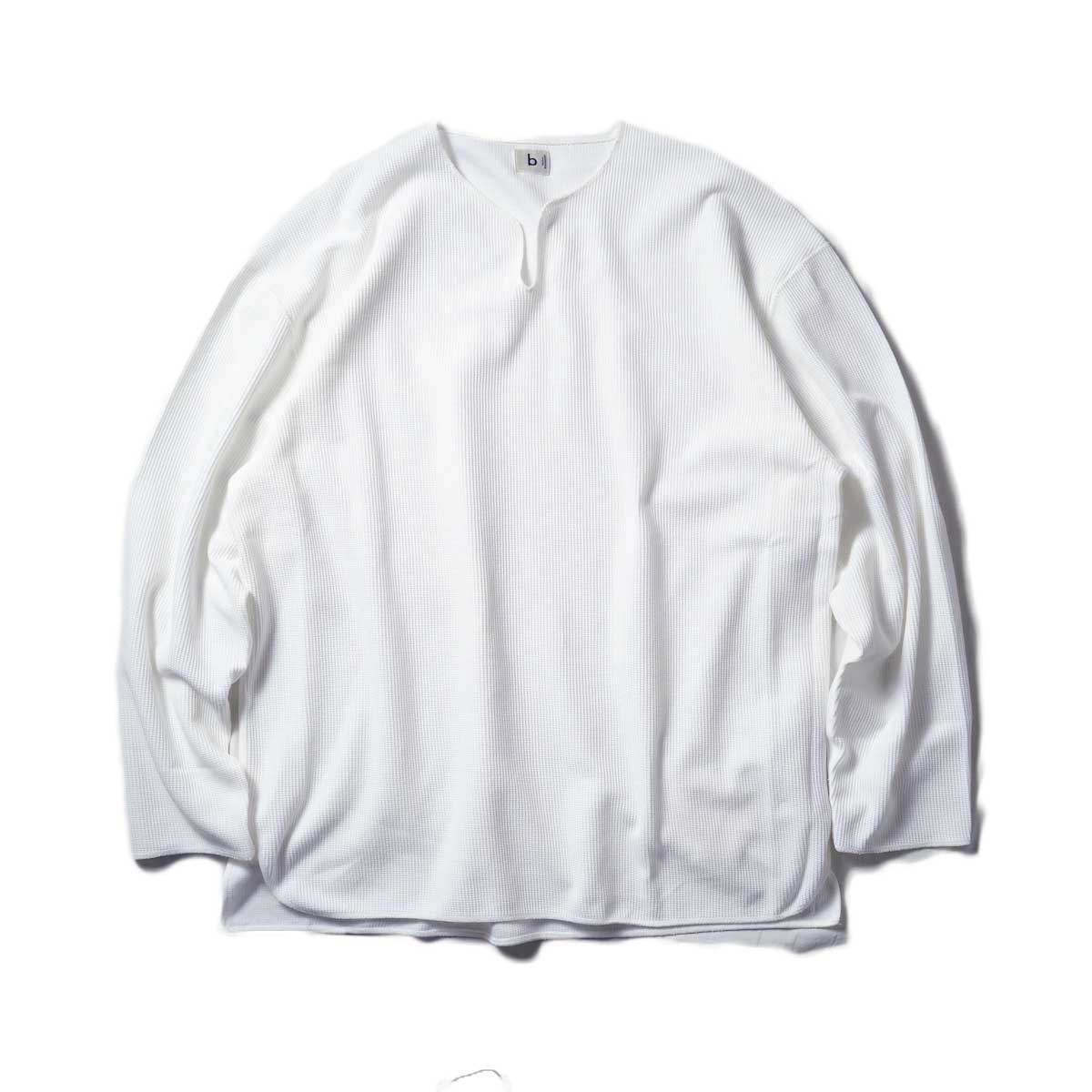 blurhms / Rough&Smooth Thermal Over-neck L/S (Off)