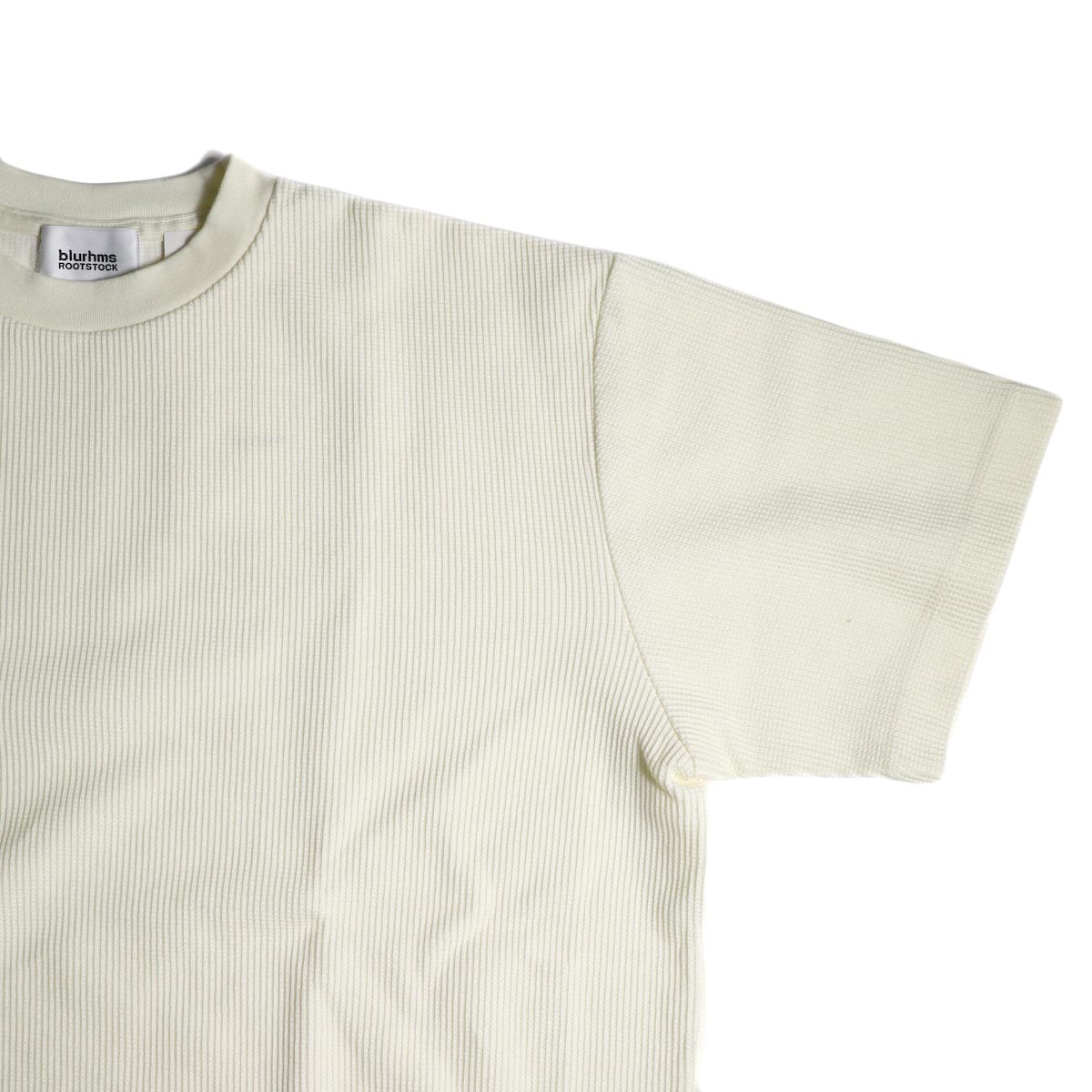 blurhms / Rough&Smooth Thermal Over-neck S/S (Off)袖