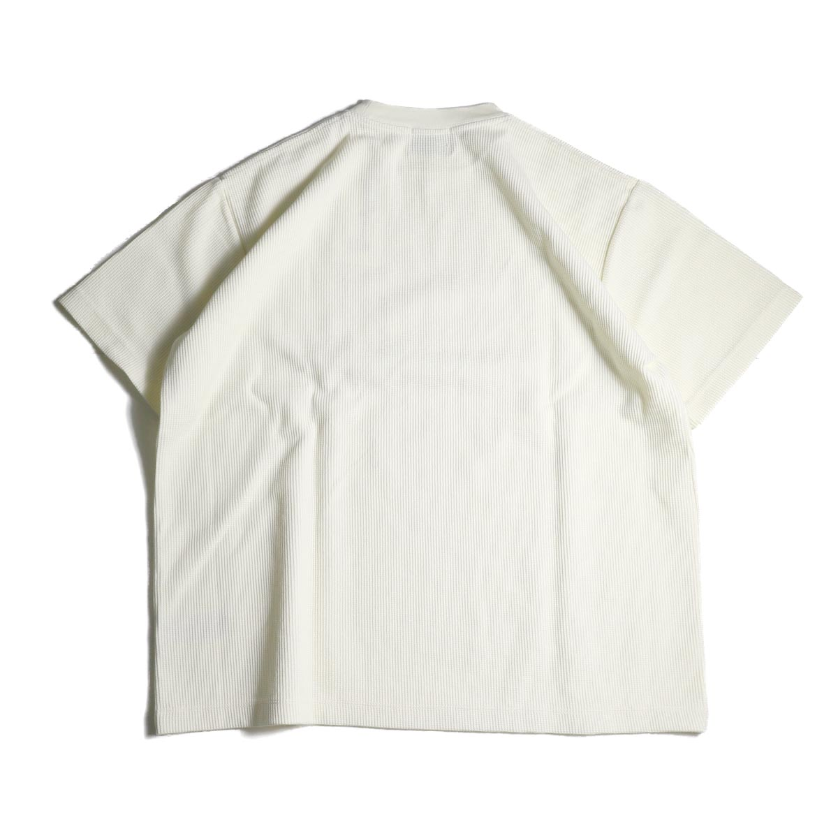 blurhms / Rough&Smooth Thermal Over-neck S/S (Off)背面