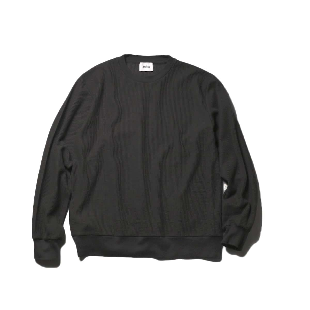 blurhms / New Rough & Smooth Thermal P/O Regular Fit (Black)正面