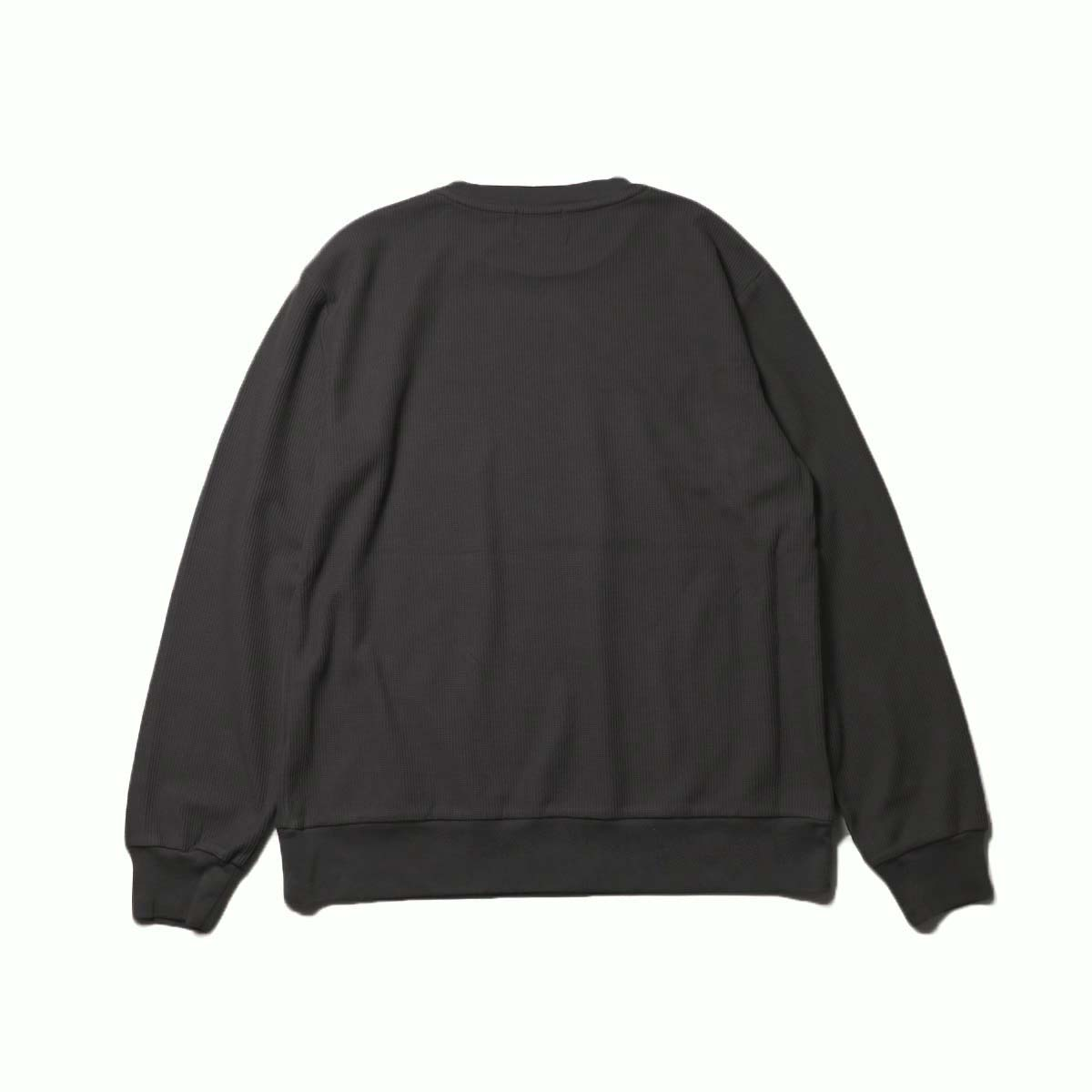 blurhms / New Rough & Smooth Thermal P/O Regular Fit (Black)背面