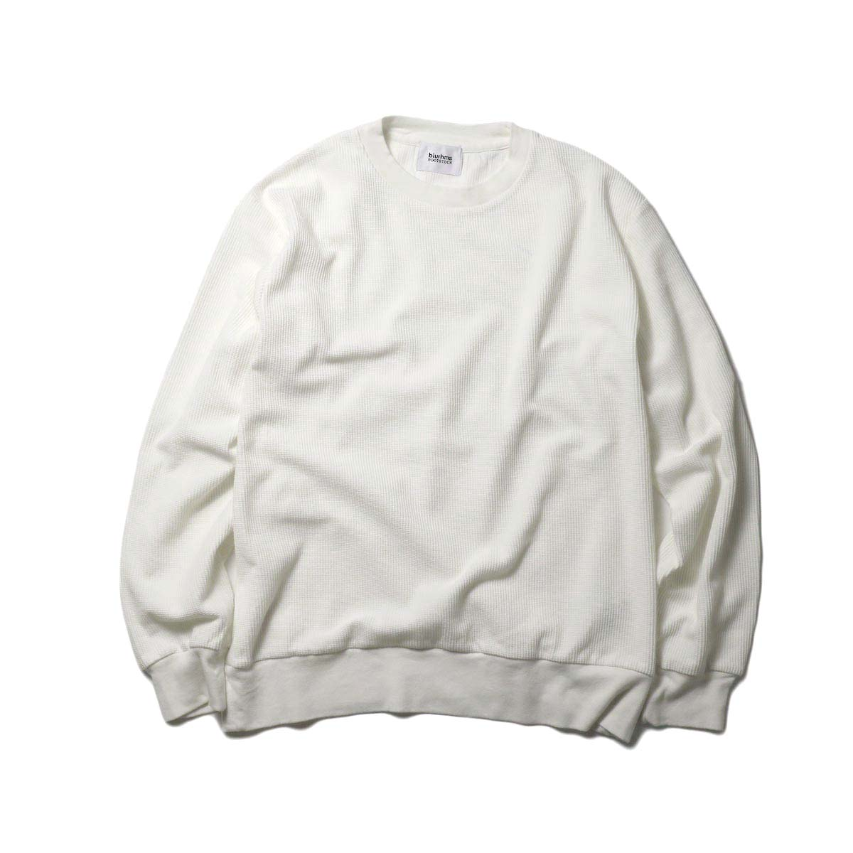 blurhms / New Rough & Smooth Thermal P/O Regular Fit (OFF)