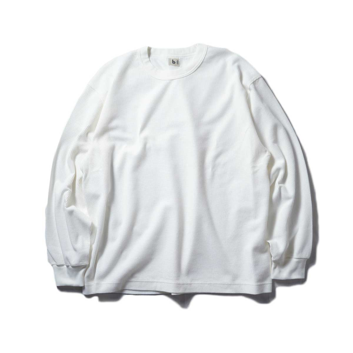 blurhms / Rough&Smooth Thermal Crew-neck L/S (Off)