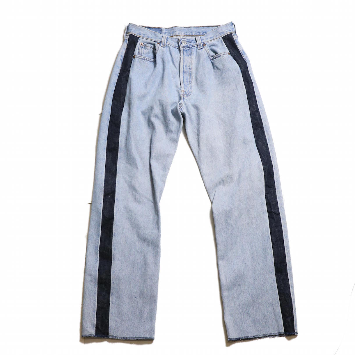 BONUM / SIDE LINE 5P DENIM PANTS(28incA