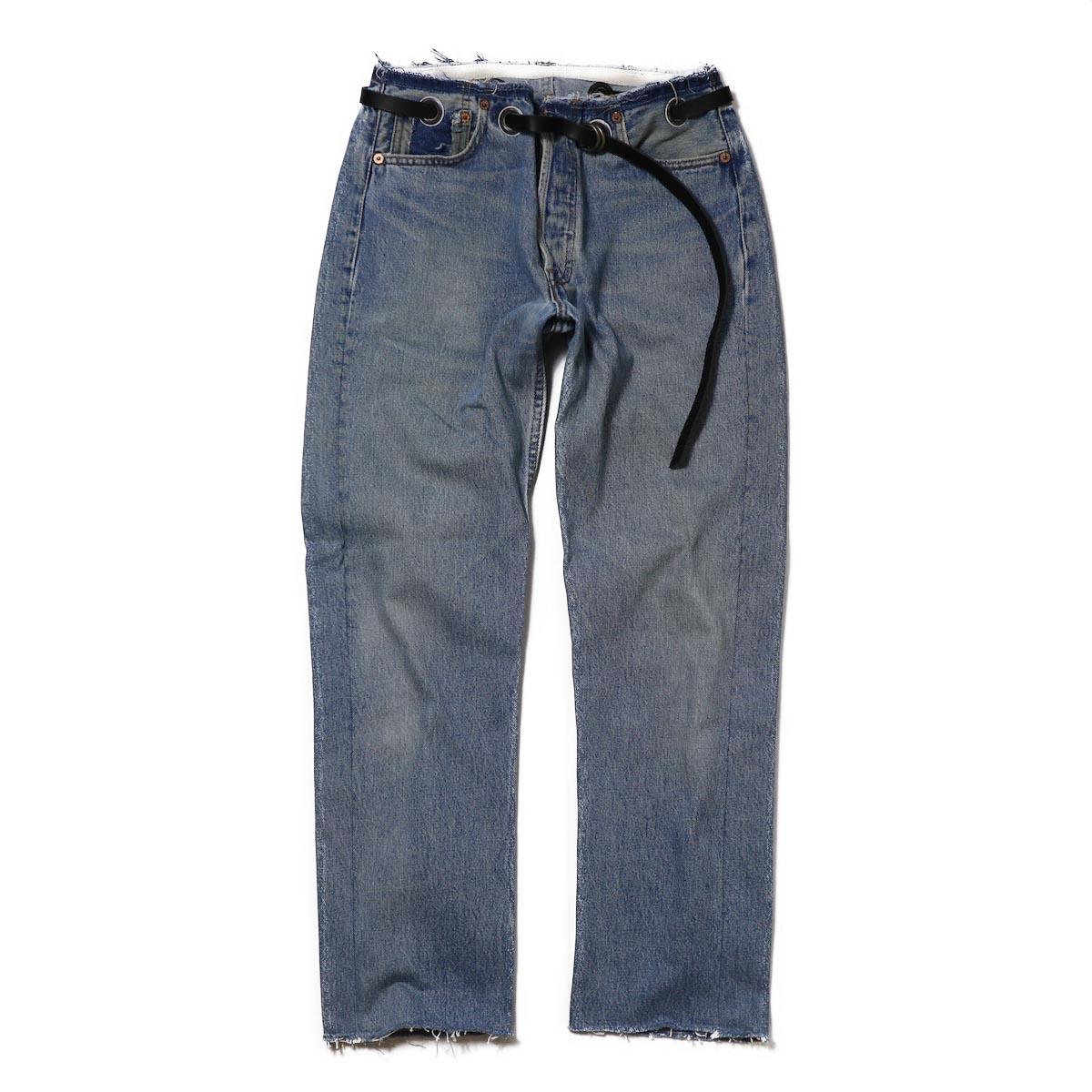 BONUM / SLIM BELTED 5PK -BLUE(28inch-E)