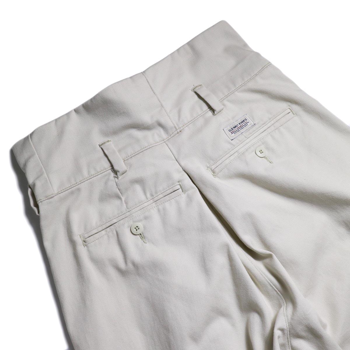 BONUM / HIGH WAIST CHINO PT (B) バックポケット
