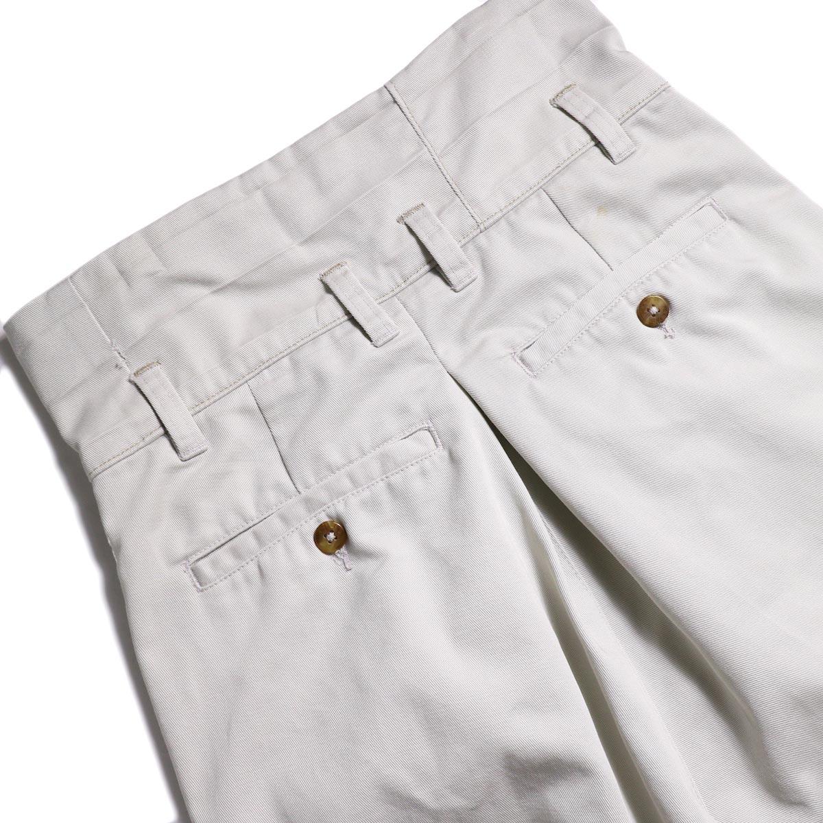 BONUM / HIGH WAIST CHINO PT (C) バックポケット