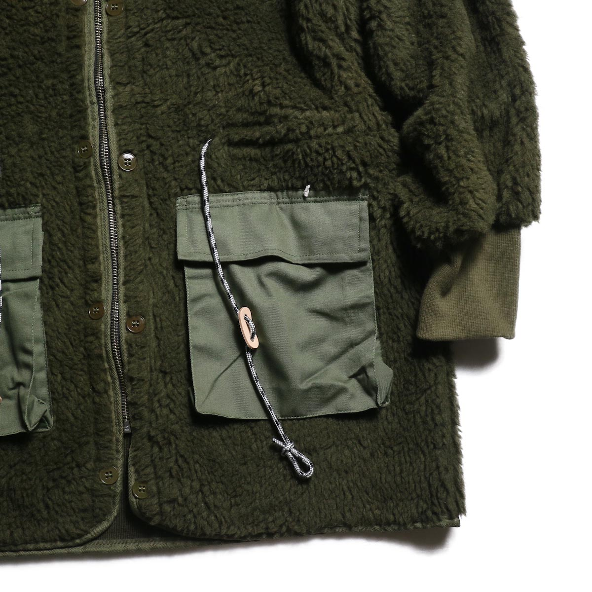BONUM / MIL Boa Coatポケット