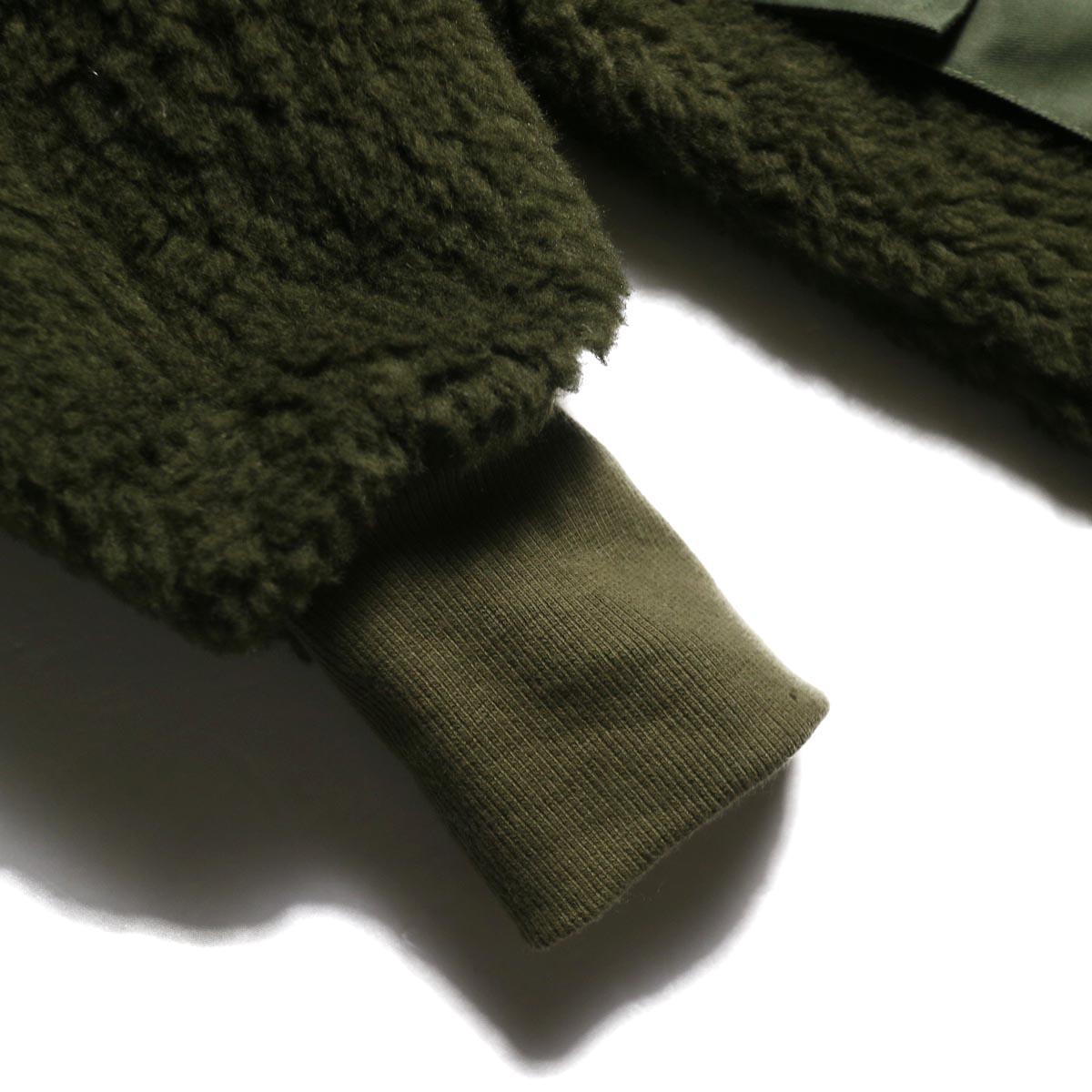 BONUM / MIL Boa Coat リブ