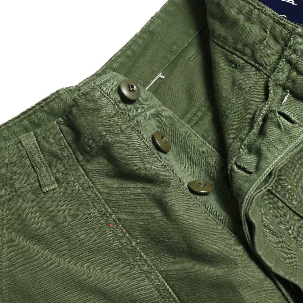 BONUM / Military FAT Pants (A) ボタンフライ