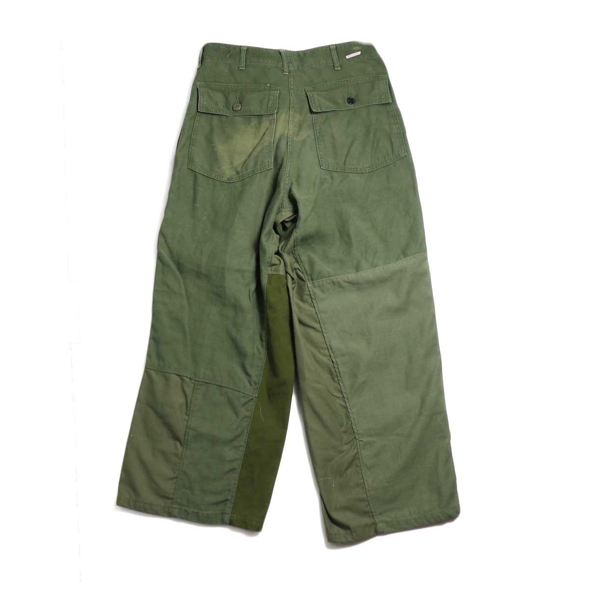 BONUM / Military FAT Pants (A) 背面