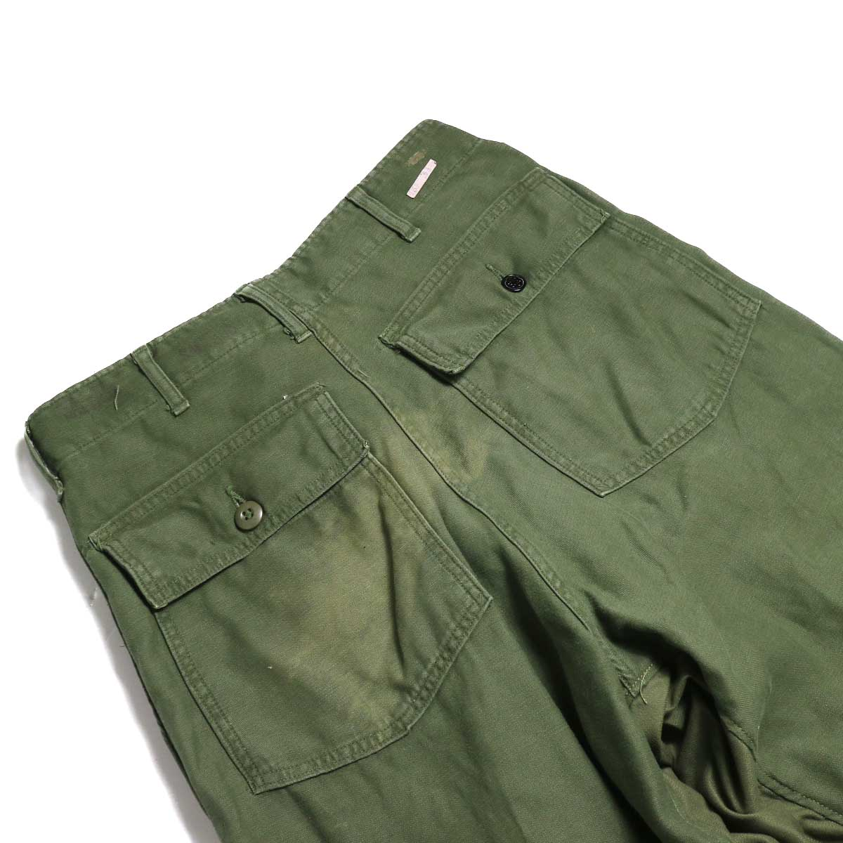 BONUM / Military FAT Pants (A) フラップポケット
