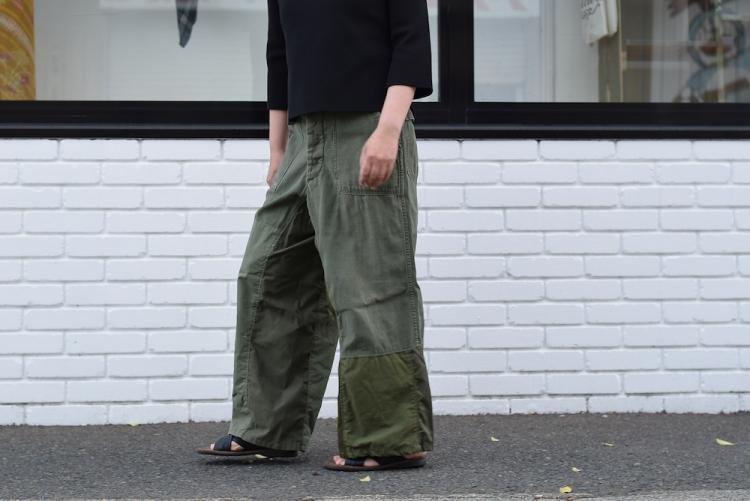 BONUM / Military FAT Pants 着用例②