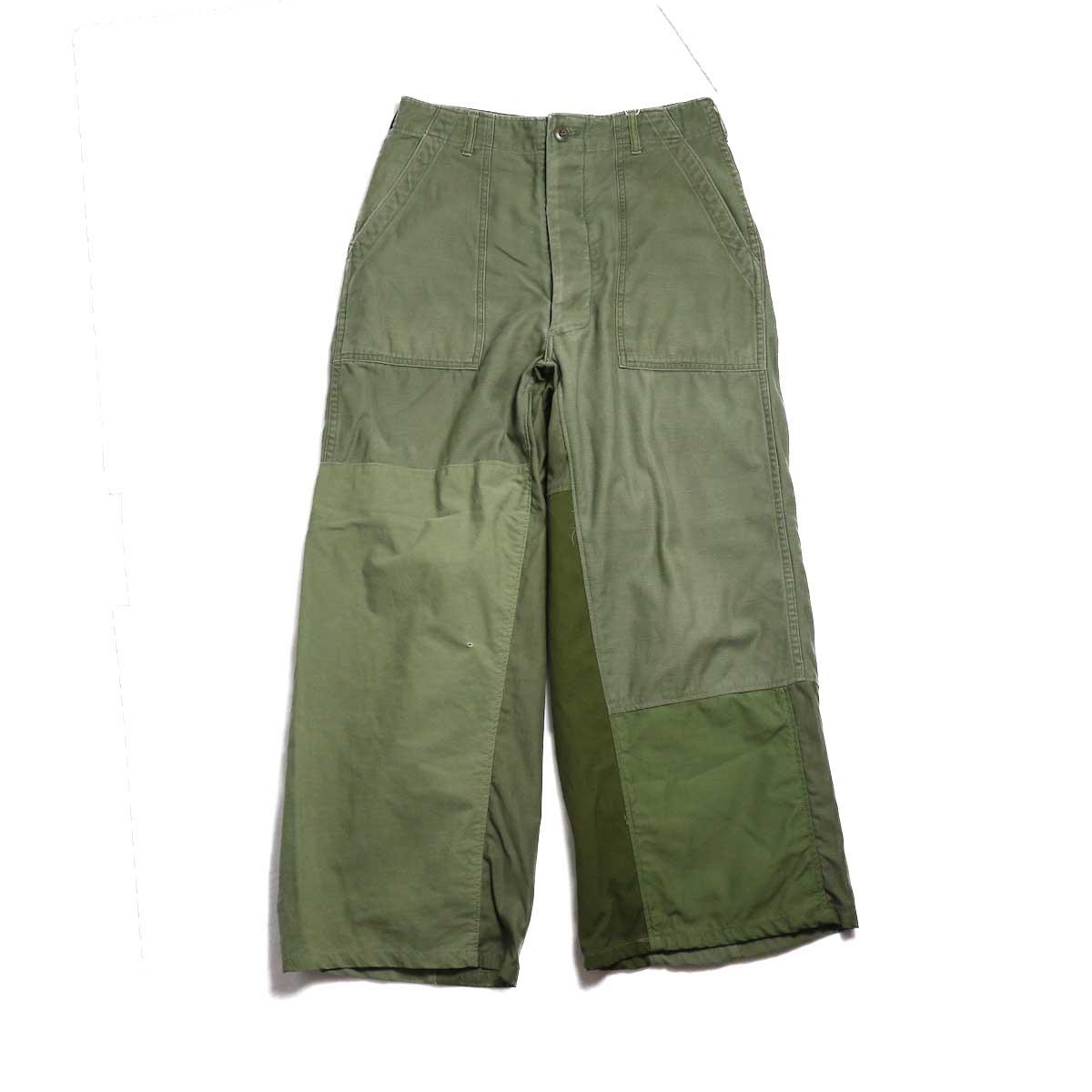 BONUM / Military FAT Pants (Btype) 正面