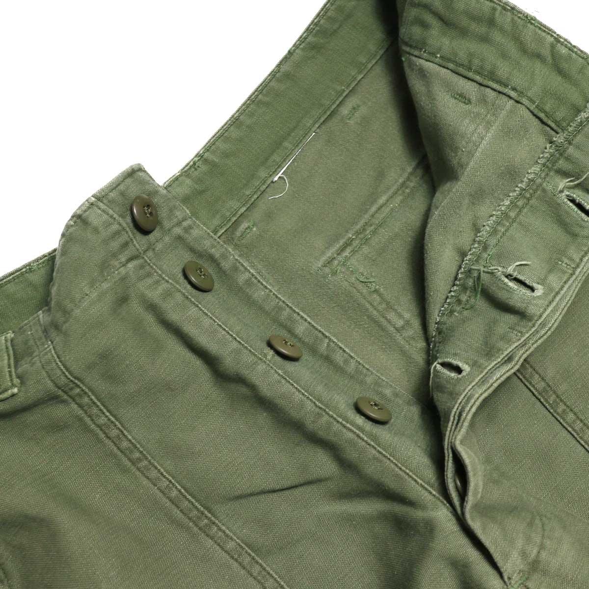BONUM / Military FAT Pants (Btype) ボタンフライ
