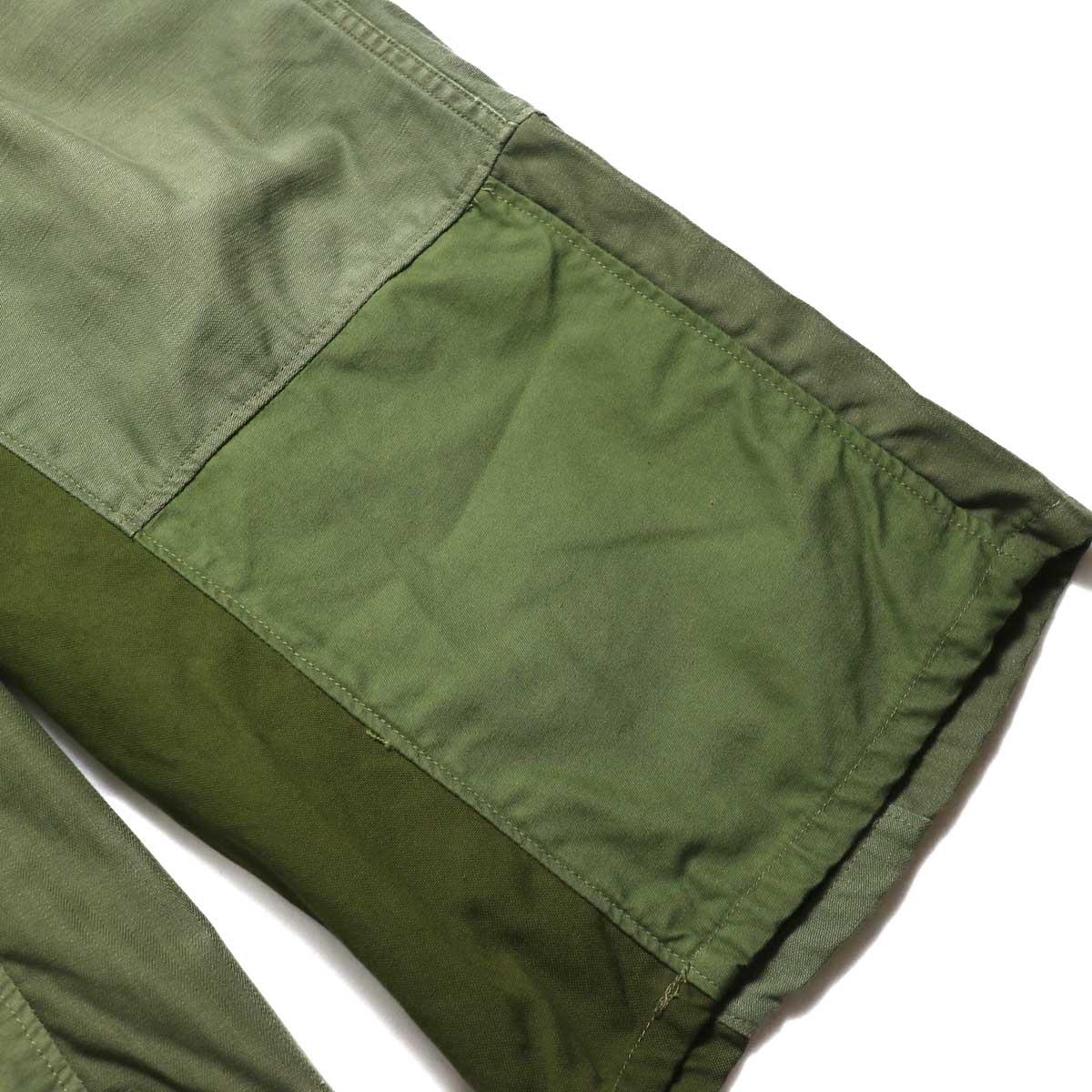 BONUM / Military FAT Pants (Btype)  パッチワーク