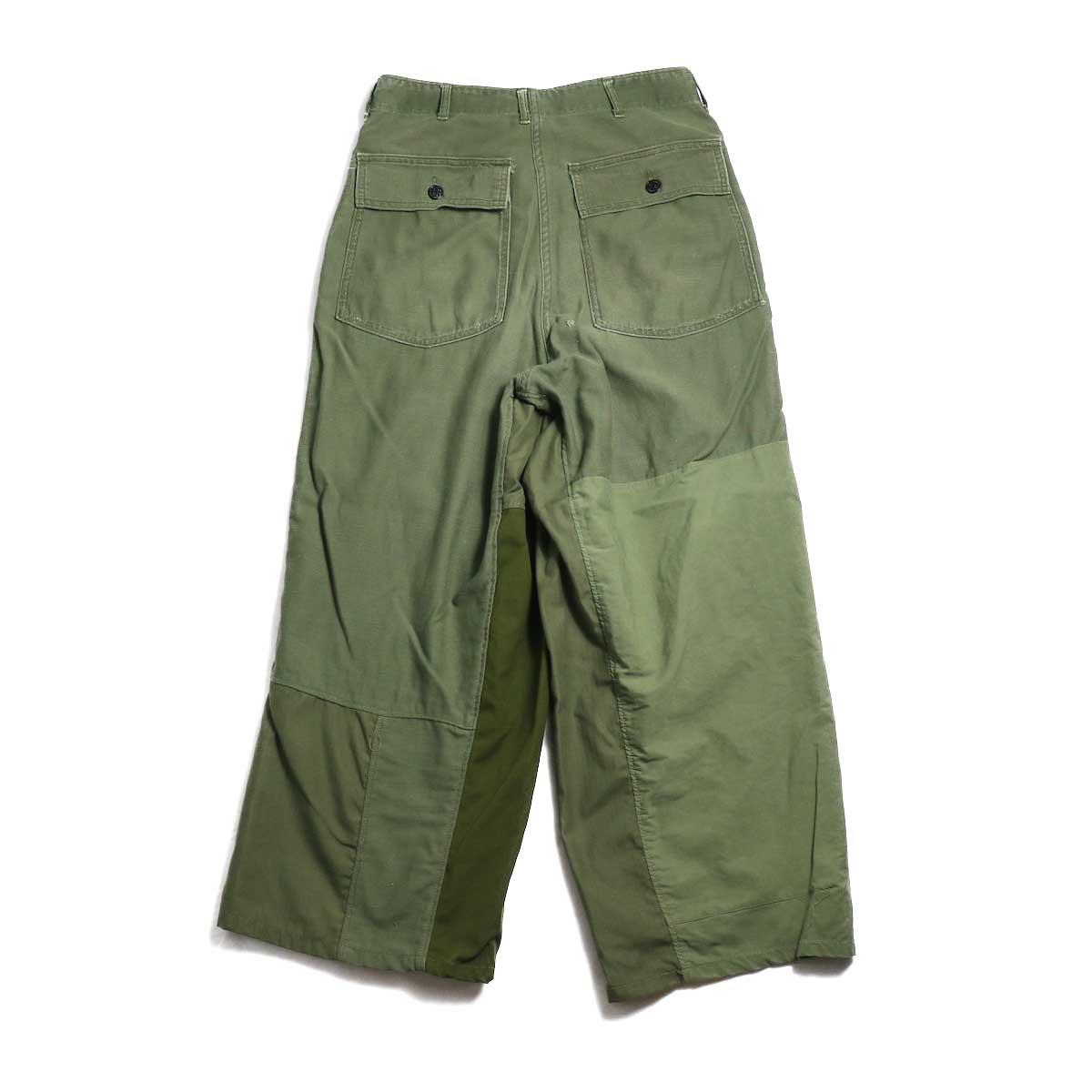 BONUM / Military FAT Pants (Btype)  背面