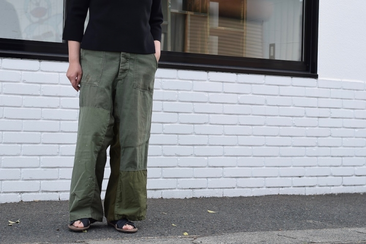 BONUM / Military FAT Pants 着用例①