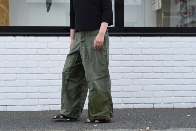 BONUM / Military FAT Pants 着用例②