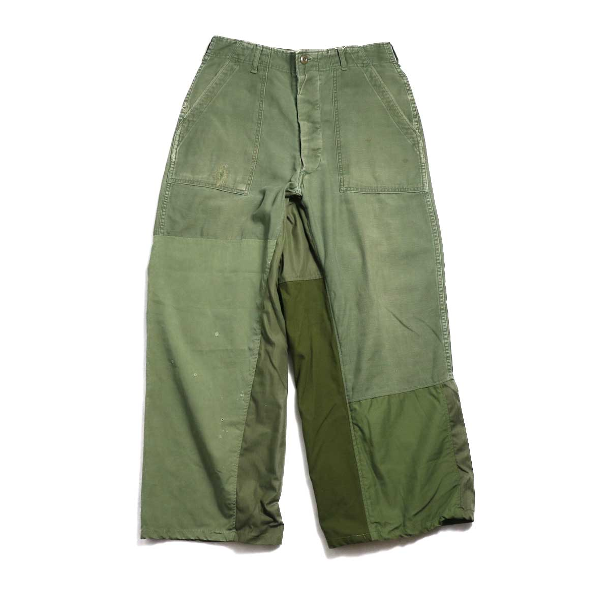 BONUM / Military FAT Pants (typeC) 正面
